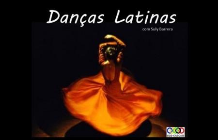 Inscrições para as aulas de Danças Latinas