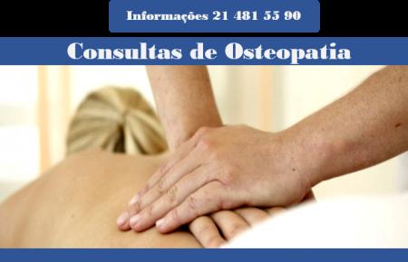 Consultas de Osteopatia