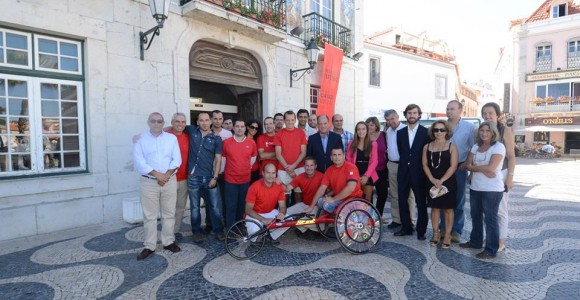 Cerimónia de Entrega de uma Viatura e Cadeira de Rodas de Competição ao CCD Cascais