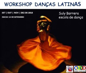 Workshop de Danças Latinas.