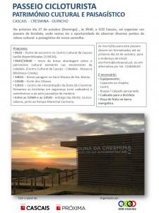 Passeio Cicloturista - Património Cultural e Paisagístico