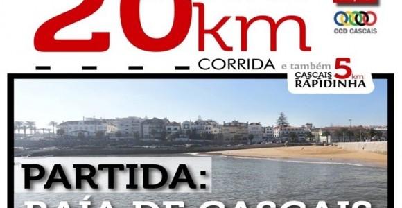 Inscrições 20 Km Cascais e Rapidinha 5 Km (Associados CCD Cascais)