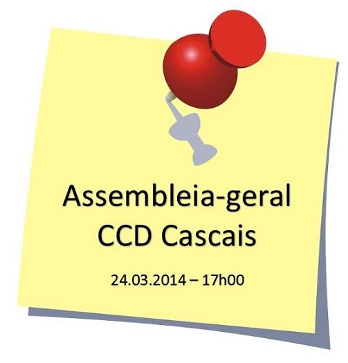 Assembleia-geral CCD Cascais