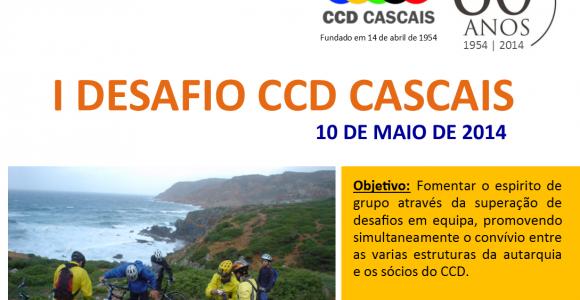 Inscrições Abertas para o 1º Desafio CCD Cascais