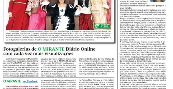 Jornal O Mirante – CCD Cascais
