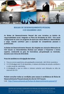 Bolsas Desenvolvimento Pessoal - CCD Solidário