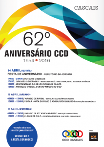 cartaz aniversário do CCD