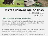Visita à horta da Quinta do Pisão – 21 de maio