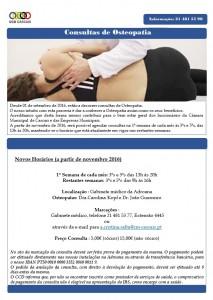 Anuncio consultas Osteopatia 1