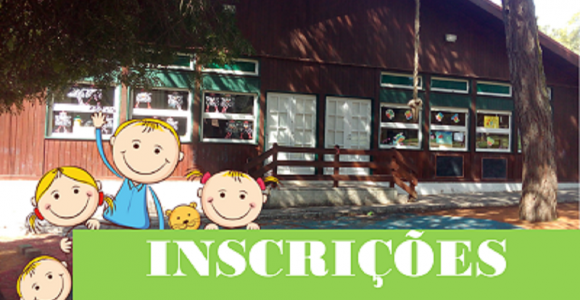 Inscrições Abertas Jardim-de-Infância