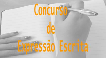 CONCURSO EXPRESSÃO ESCRITA